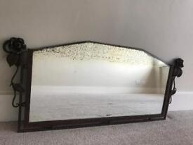 Vintage French Art Deco Mirror