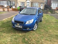 Chevrolet Aveo 1.4 59 plate low millig hpi clear