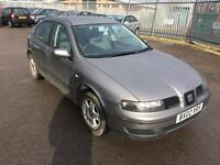 2002SEAT LEON 1.6 S-GENUINE 77,000 MILES WITH FULL HISTORY INC CAMBELT-2 KEYS-DRIVES WELL