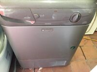 white condensed dryer......mint free delivery