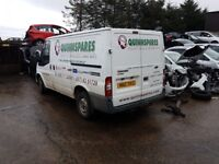 2008 FORD TRANSIT 85 T260S FWD 2.2 TDCI MANUAL BREAKING