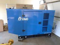 SDMO John Deere 88Kva Diesel Generator