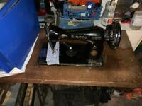 Singer sewing machine 1954 Receipt
