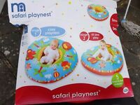 Mothercare safari play nest - suitable from birth