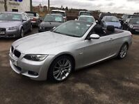 BMW 320d M SPORT AUTO CONVERTIBLE - FINANCE AVAILABLE