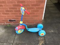 Peppa Pig 3 wheeled scooter