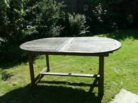 Garden table- open to offers