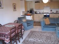 Double L-shape room available in lovely 2 bed flat