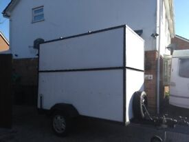 Box Trailer - braked - 8' x 6' x 4'