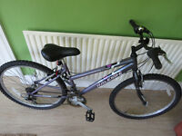 "LADIES 16"" FRAME MOUNTAIN BIKE.."" RALEIGH TANTRUM""...GREAT CONDITION READY TO RIDE AWAY."