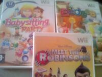 Nintendo Wii Games.
