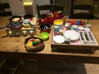 Whole kitchen set, Cooker and tea set, ElC, IKEA, Playful and more