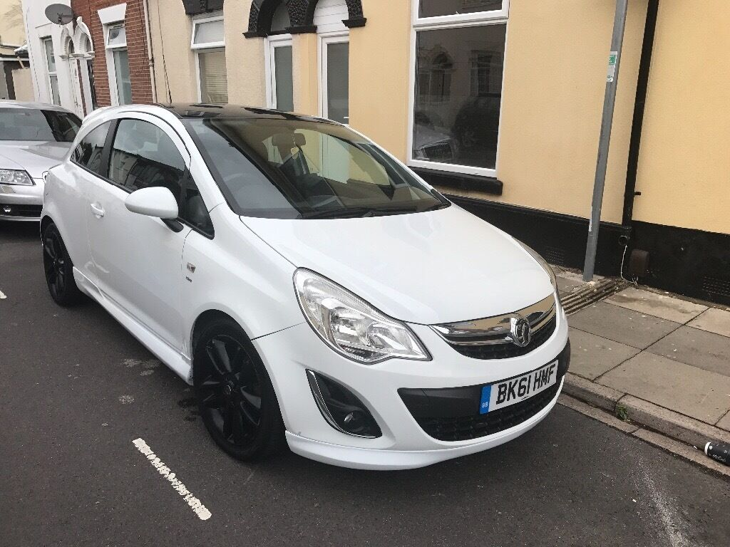 vauxhall corsa 2012 3dr hatchback white 1 2 petrol in southsea hampshire gumtree. Black Bedroom Furniture Sets. Home Design Ideas
