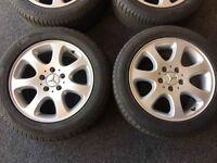 """Mercedes 16"""" Alloy Wheels"""
