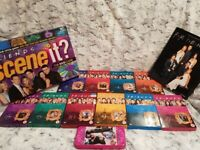 Friends Complete DVD Collection, Scene It Board Game, Vintage Pencil Case & Friends Book