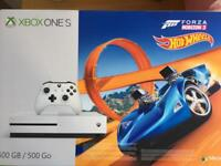 Xbox one S console with Forza Horizon 3 & hotwheels DLC
