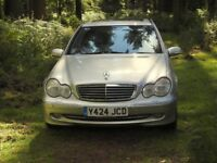 Mercedes Benz C240. Excellent condition and low mileage for its year !