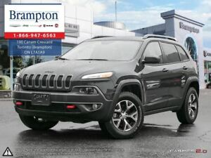 2017 Jeep Cherokee TRAILHAWK 4X4 | EX CHRYSLER COMPANY DEMO | 8.