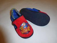 Fireman Sam slippers size 12