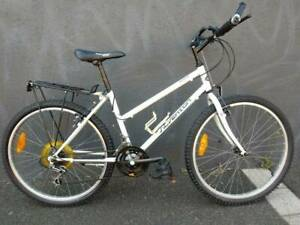 PRICE REDUCED. GOOD ADULT BICYCLE WITH REAR CARRIER