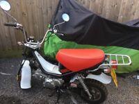 Skyteam 125cc Bubbly. Retro Style. Bargain at £700!