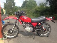1981 Honda XL 250s twin shock classic for sale