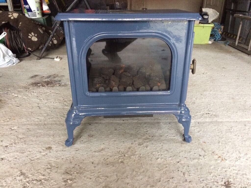 The Morely lpg gas fire