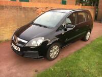 Vauxhall zafira mpv 7 seater low miles 2007 1.6 petrol ford galaxy seat vw sharan