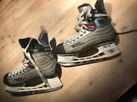 Bauer ice skates size 10