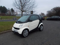 SMART FORTWO COUPE AUTOMATIC CREAM/BLACK 2005 NEEDS ATTENTION STARTS 69K MILES BARGAIN £850 *LOOK*