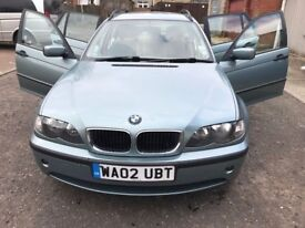 2002 BMW 3 Series 2.0 320d SE Touring 5dr Manual @07445775115