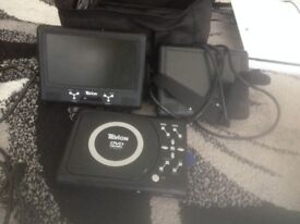 for sale Tevion In Car DVD player Used Twin Short slide
