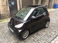 Smart Car 2008 Cabriolet ForTwo 451 Black