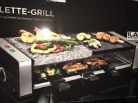 Brand new boxed grill bbq raclette oven hot plate hot stone for steak meat veg fish