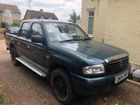 Mazda pick up truck just had new clutch and timing belt