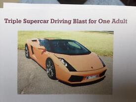 driving experience In the best 3 cars of your choice