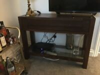 Coffee table and matching console from Marks and Spencer