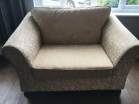 2 x Marks and Spencer Abbey love seats /large chairs/ small sofas/ snuggler