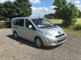 PEUGEOT EXPERT TEPEE 2.0 HDi L2 Tepee Leisure Combi 5/6 Seater 4dr (silver) 2008