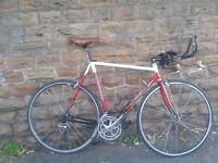 LOW PRO Track Road Bike 653 Light Weight MB Dronfield Hand Built Mavic Campagnolo L'Eroica