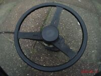teleflex boat steering -wheel,box and cable