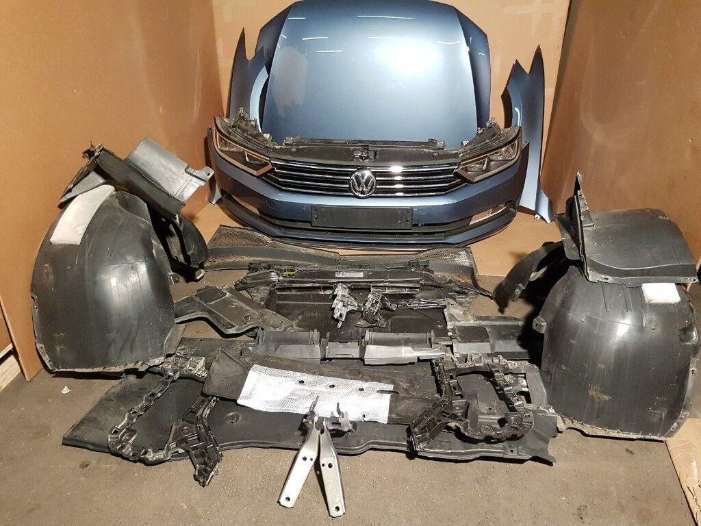 Car part: single unit front end VW Passat B8 2.0 TDI 2015