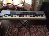 M Audio Keystation Pro 88 MIDI keyboard