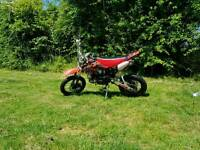 X-sport 125 pitbike/supermoto/road legal(With Log Book)