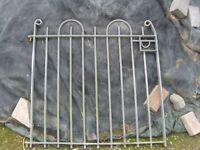 galvanised heavy garden gate