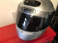 SHOEI motorbike helmet size large