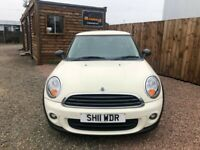 2011 11 MINI HATCH FIRST 1.6 FIRST 3d 75 BHP***GUARANTEED FINANCE***PART EX WELCOME***