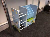 Children's Bookcase Display Shelf w/ Baskets