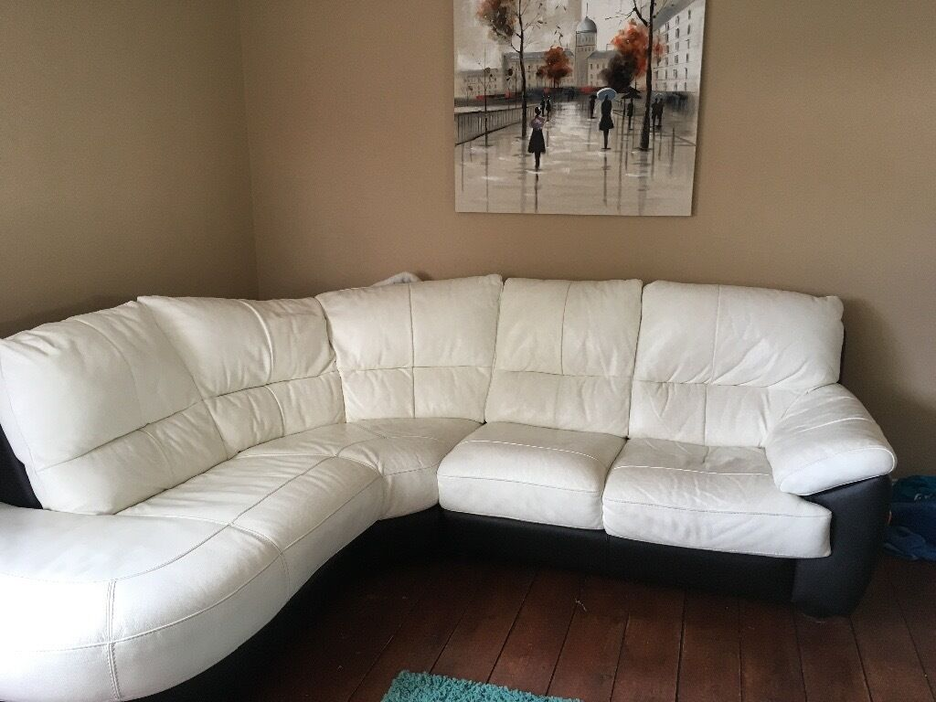 Leather Corner Sofa Two Seater Sofa And Recliner Chair