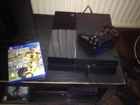 sony ps4 console and game